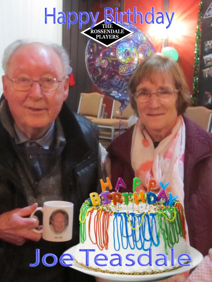 Joe Teasdale's surprise 90th birthday tea