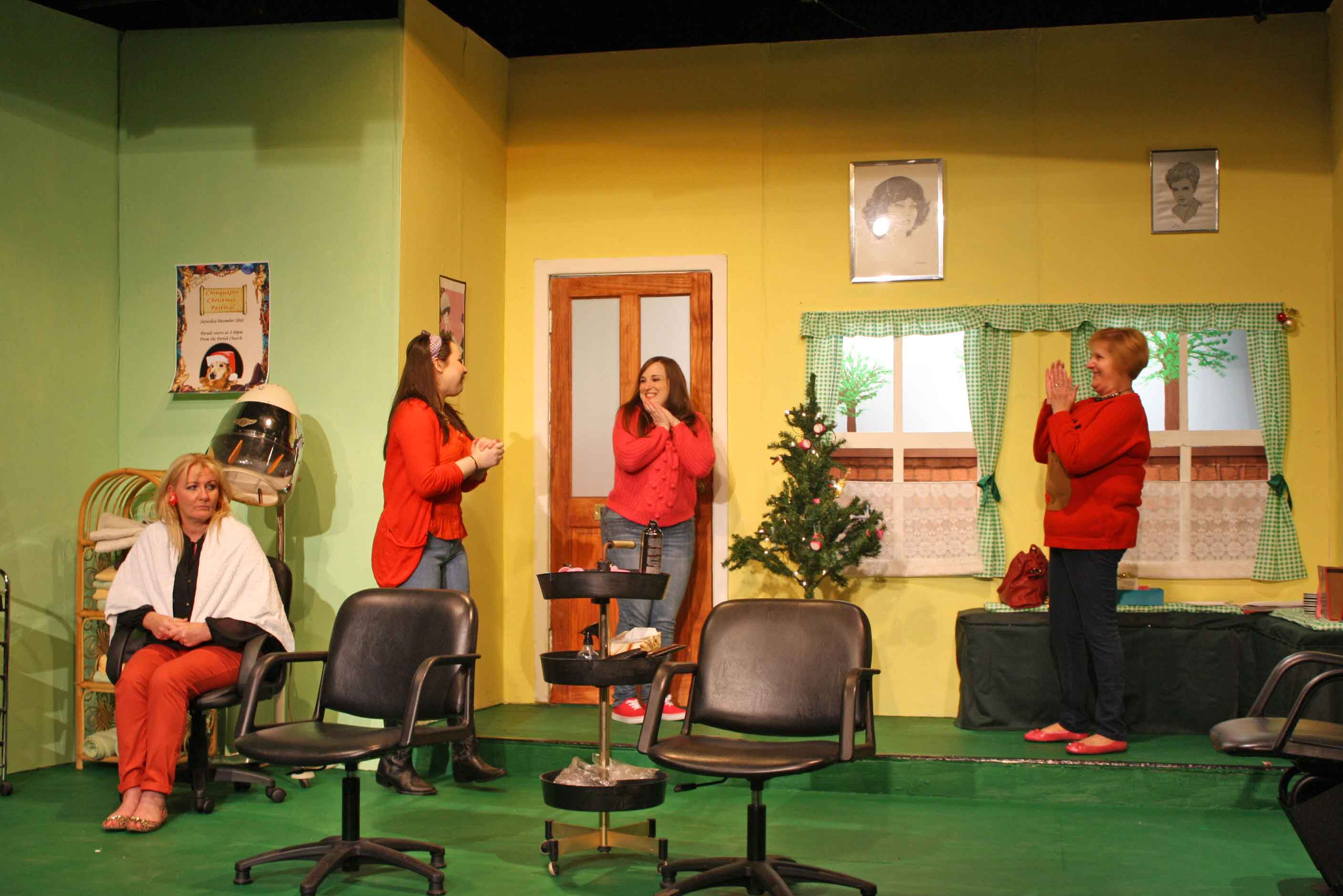 Steel magnolias rossendale players for A janet lynne salon