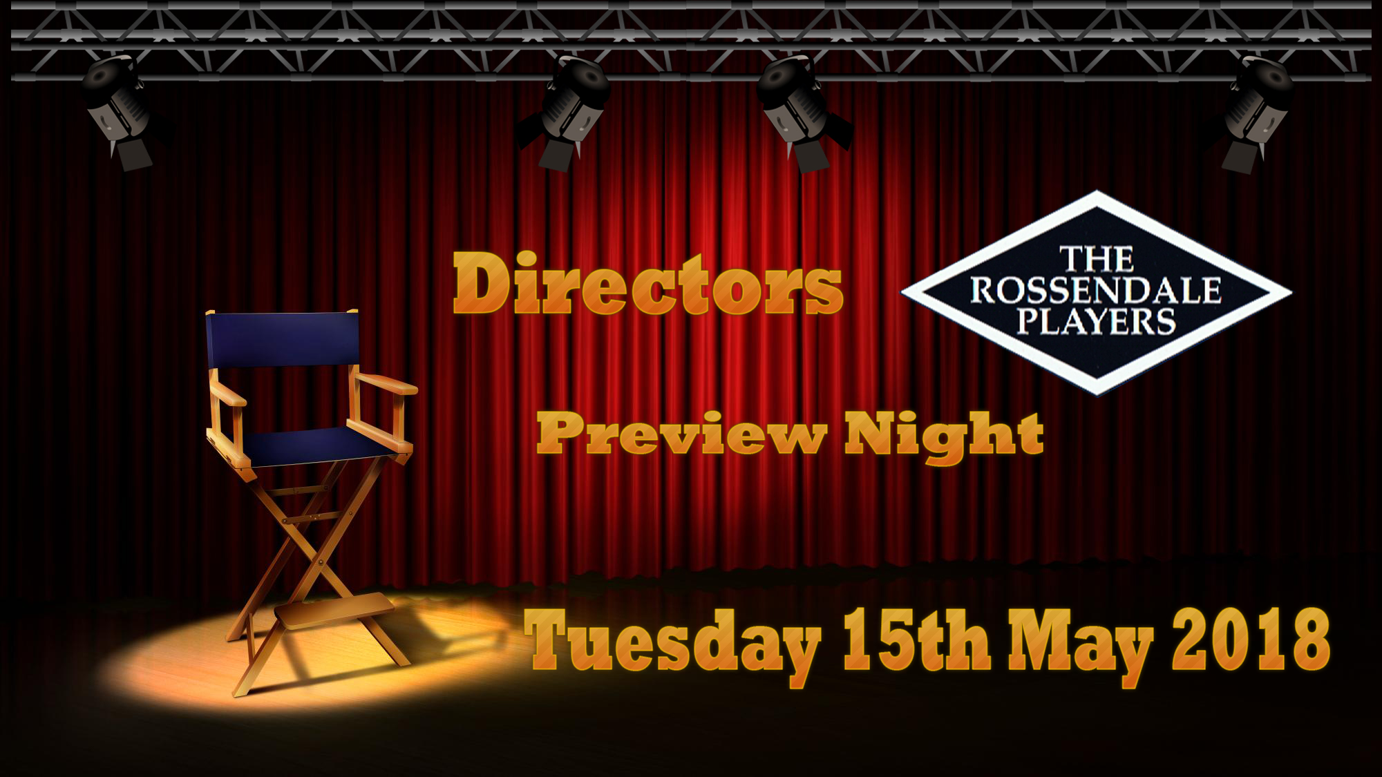 Directors Preview Evening 15th May 2018